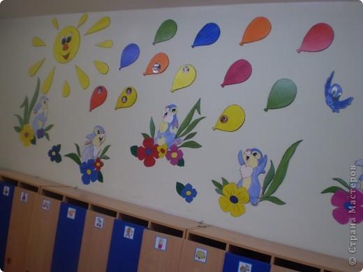 Оформление раздевалки поновому Воспитателям детских